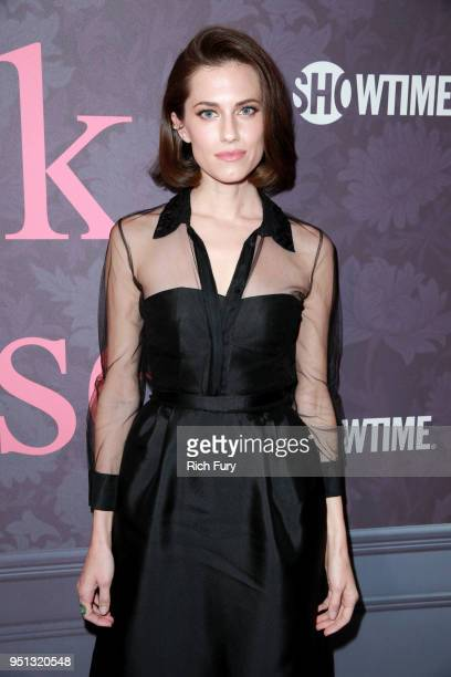 Allison Williams attends the premiere of Showtime's 'Patrick Melrose' at Linwood Dunn Theater on April 25, 2018 in Los Angeles, California.