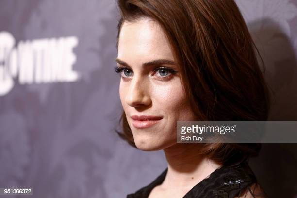 Allison Williams attends the premiere of Showtime's 'Patrick Melrose' at Linwood Dunn Theater on April 25 2018 in Los Angeles California