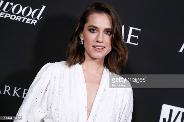 Allison Williams attends the Sean Penn J/P HRO gala benefiting J/P Haitian Relief Organization and a coalition of disaster relief organizations at...