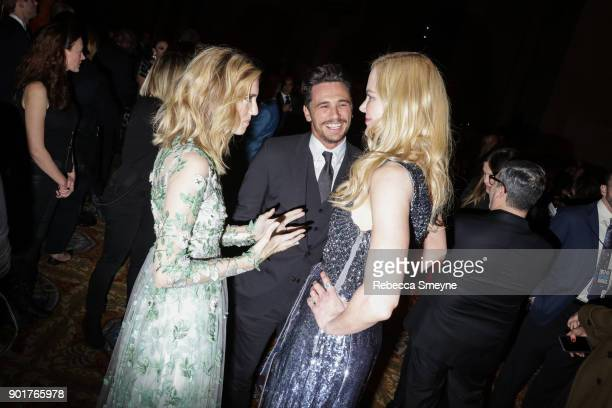 Allison Williams James Franco and Nicole Kidman attend the 2017 IFP Gotham Awards at Cipriani Wall Street on November 27 2017 in New York NY