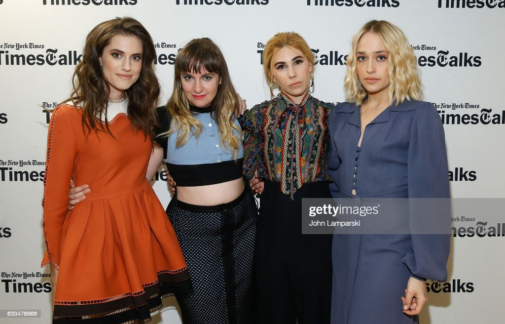 """TimesTalks: A Final Farewell To The Cast Of HBO's """"Girls"""" : News Photo"""