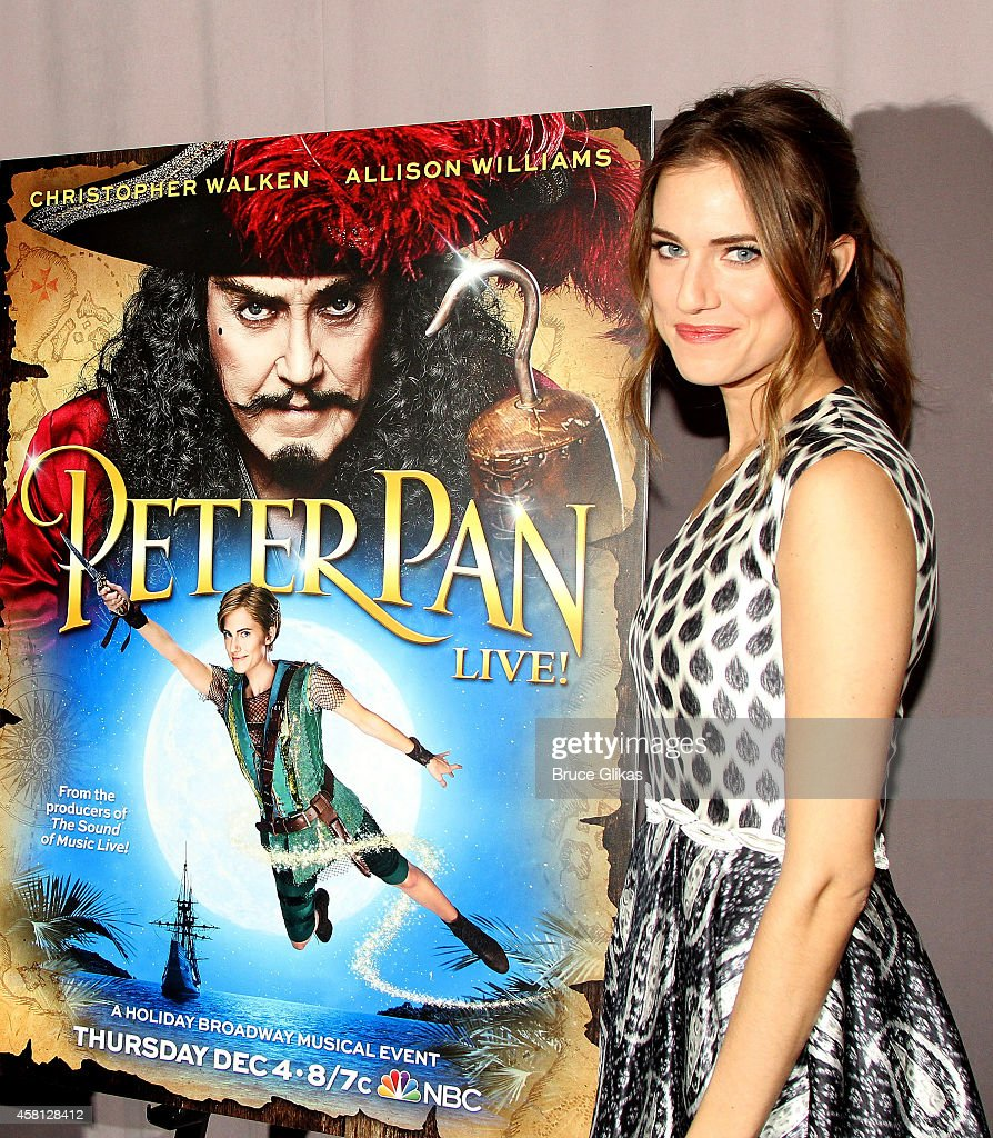 Allison williams poses at the nbc presents peter pan live cast meet picture id458128412 allison williams poses at the nbc presents peter pan live cast meet and kristyandbryce Image collections