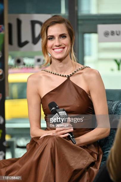 """Allison Williams visits Build to discuss """"The Perfection"""" at Build Studio on May 23, 2019 in New York City."""