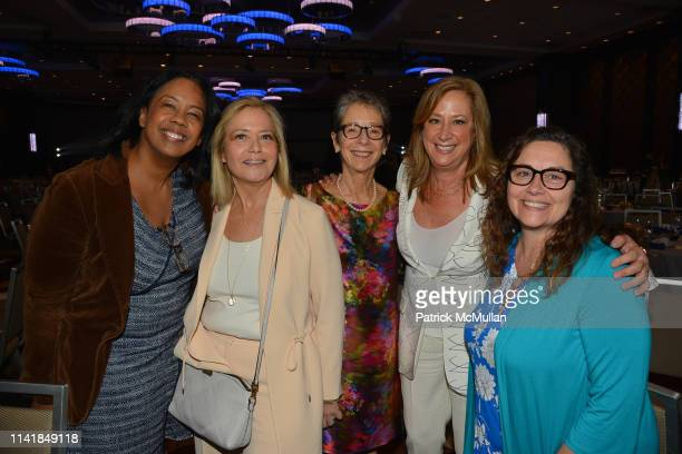 Allison Williamson Hilary Rosen Robin Cantor Lisa Sherman and Jeannie Kedan attend 2019 MATRIX Awards at Sheraton New York Hotel Towers NYC on May 6...