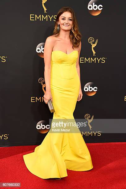 Allison Wright attends the 68th Annual Primetime Emmy Awards at Microsoft Theater on September 18 2016 in Los Angeles California