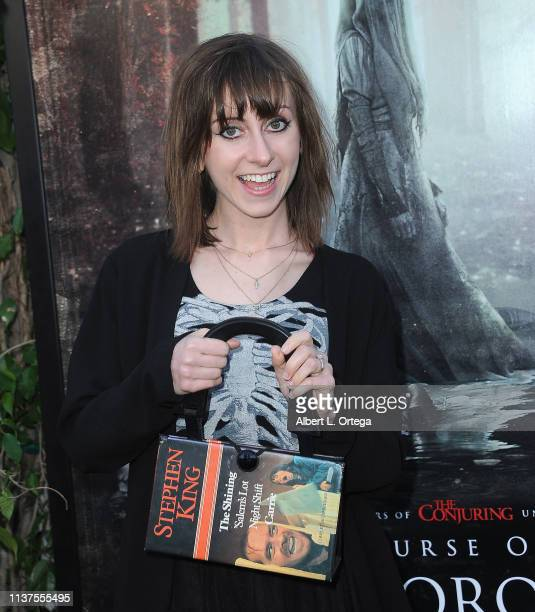 Allisyn Ashley Arm arrives for the Premiere Of Warner Bros' The Curse Of La Llorona held at the Egyptian Theatre on April 15 2019 in Hollywood...
