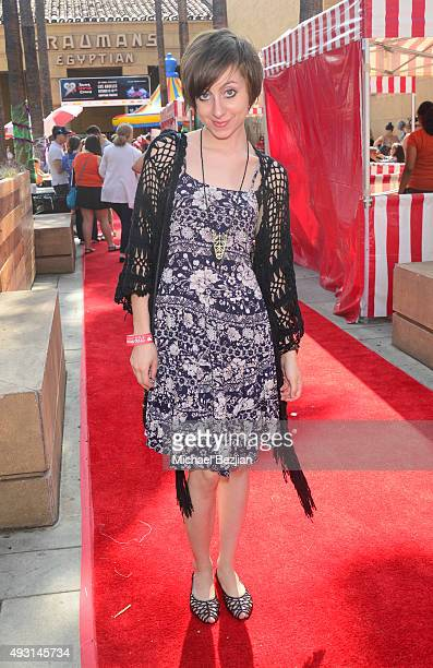 Allisyn Ashley Arm attends Dream Halloween 2015 at the Egyptian Theatre on October 17 2015 in Hollywood California