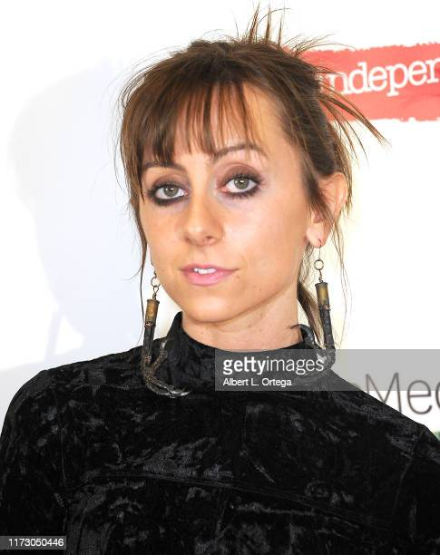 Allisyn Ashley Arm attends the Premiere Of Relish At The Burbank International Film Festival held at AMC Burbank 16 on September 6 2019 in Burbank...