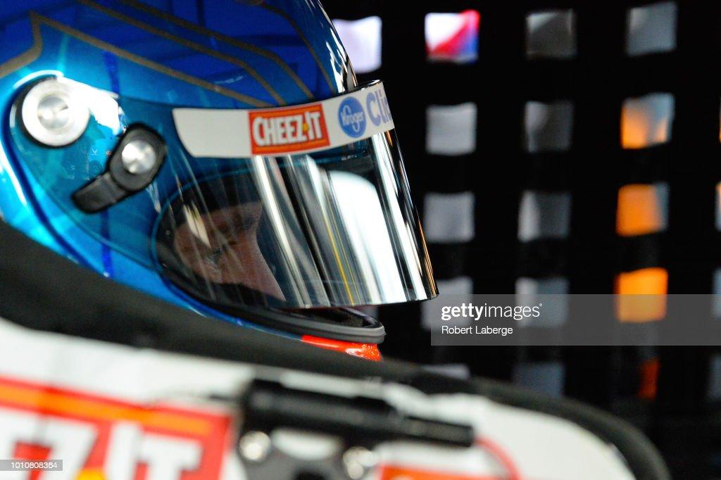 AJ Allmendinger, driver of the Kroger ClickList Chevrolet
