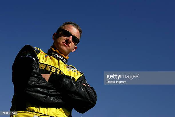 J Allmendinger driver of the Western Union RuSport Lola Ford Cosworth during practice for the ChampCar World Series Gran Premio TelmexTecate on...