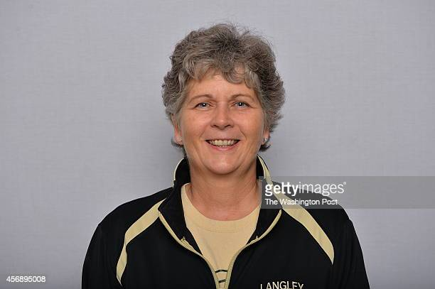 AllMet volleyball coach of the year Susan Shifflett of Langley photographed at The Washington Post via Getty Images on December 6 2013 in Washington...