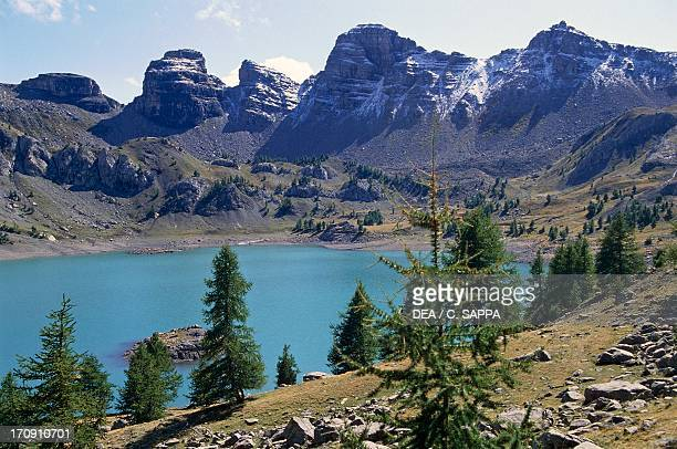 Allos lake Mercantour National Park France