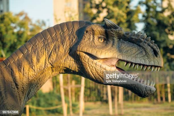Allosaurus in Novi Sad Dino Park
