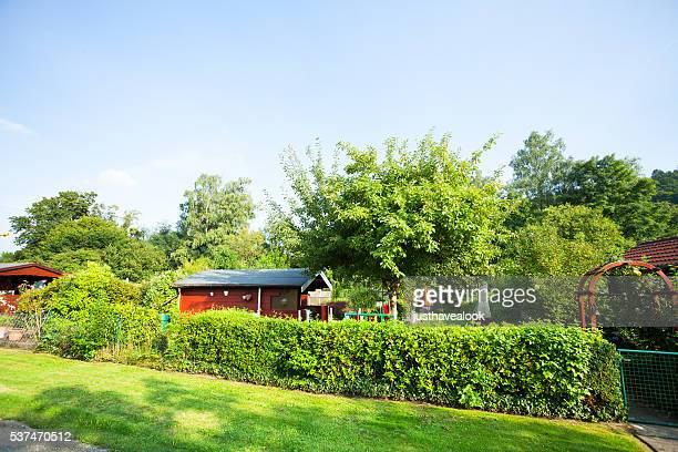 Zuteilungen und Gärten