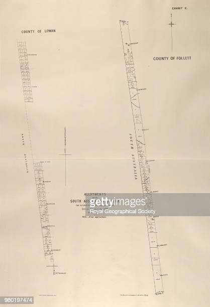 Allotments on the South Australian Border for occupation under grazing license Section 119 Land Act 1884 From an atlas containing maps and plans...