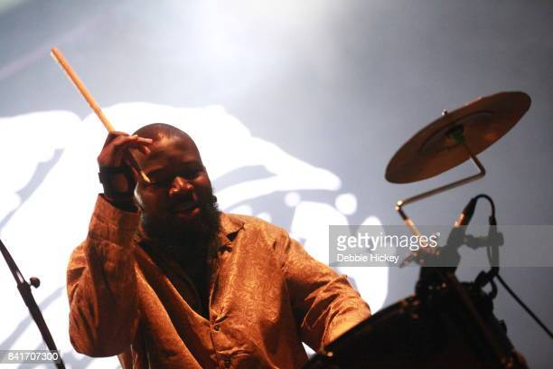 Alloysious Massaquoi of Young Fathers performs at Electric Picnic Festival at Stradbally Hall Estate on September 1 2017 in Laois Ireland