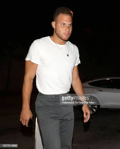 NBA allstar basketball player Blake Griffin is seen on September 4 2018 in Los Angeles California