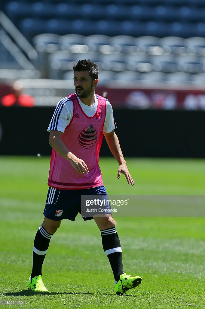 MLS All-Stars Training Session : News Photo