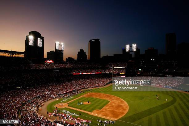 All-Stars compete in the State Farm Home Run Derby at Busch Stadium on July 13, 2009 in St. Louis, Missouri.