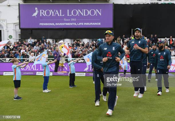 Allstars guard of honour before the 4TH One Day International between England and Pakistan at Trent Bridge on May 17, 2019 in Nottingham, England.