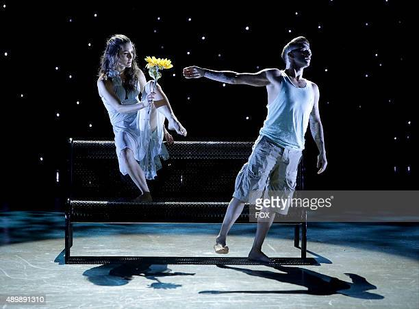 AllStars Kathryn McCormick and Travis Wall perform a Contemporary routine choreographed by Mia Michaels on SO YOU THINK YOU CAN DANCE airing Tuesday...