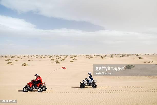 All-terrain vehicles racing