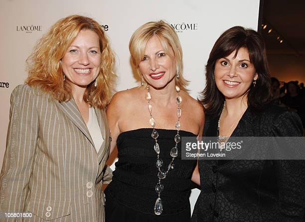 Allure Magazine publisher, Dr. Tina Alster, and Nina White, Senior VP of Marketing for Lancome