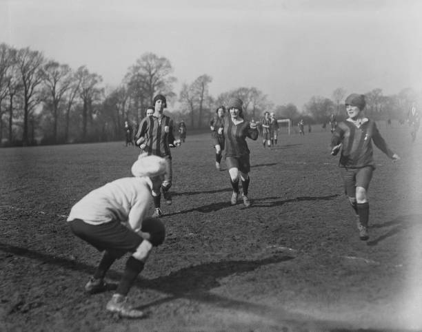 GBR: Early Women's Football: New Archive Finds