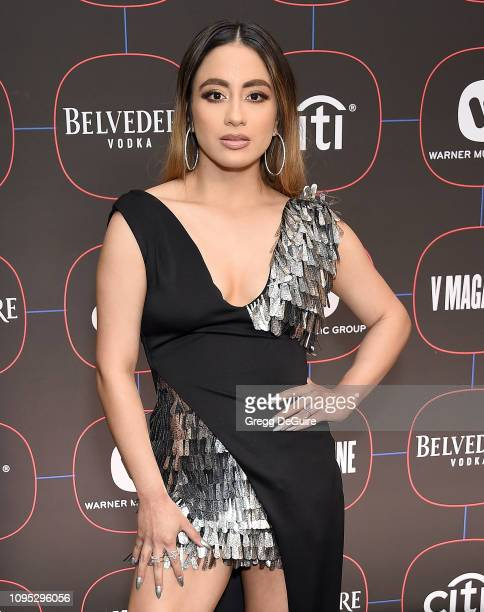 Ally Brooke arrives at the Warner Music Group PreGrammy Celebration at Nomad Hotel Los Angeles on February 7 2019 in Los Angeles California