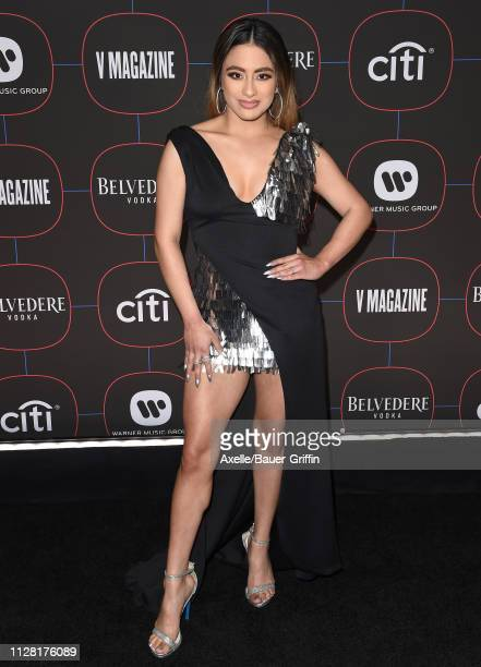 Ally Brooke arrives at the Warner Music Group PreGrammy Celebration at Nomad Hotel Los Angeles on February 07 2019 in Los Angeles California