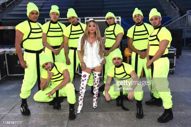 Ally Brooke attends 2019 iHeartRadio Wango Tango presented by The JUVÉDERM® Collection of Dermal Fillers at Dignity Health Sports Park on June 01...