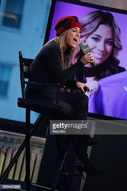 Ally Brooke attends AOL Build Presents Fifth Harmony Member Ally Brooke at AOL Studios In New York on December 8 2015 in New York City