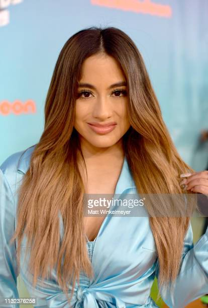 Ally Brooke attends Nickelodeon's 2019 Kids' Choice Awards at Galen Center on March 23 2019 in Los Angeles California