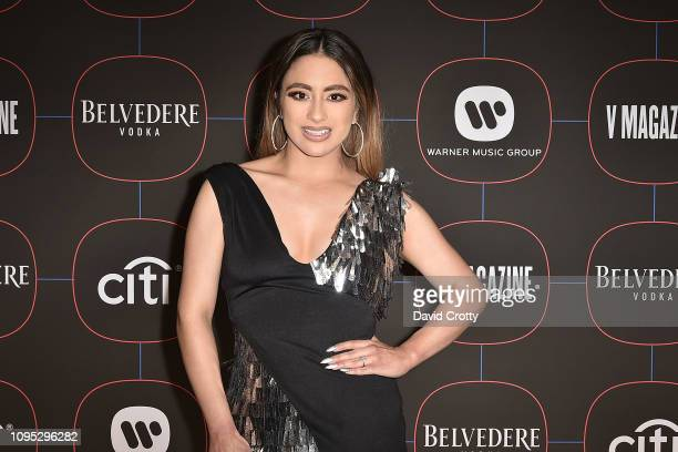 Ally Brooke attends the Warner Music Group PreGrammy Celebration at Nomad Hotel Los Angeles on February 7 2019 in Los Angeles California