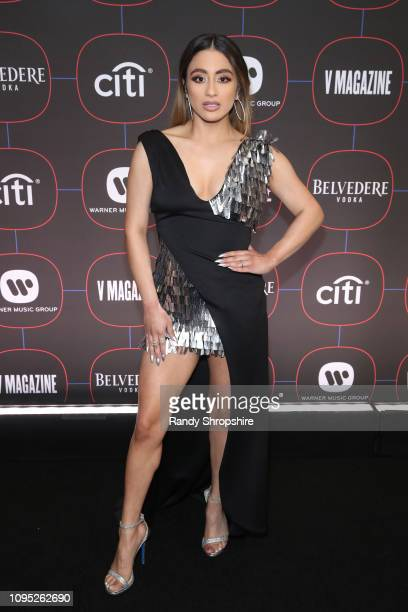 Ally Brooke attends the Warner Music PreGrammy Party at the NoMad Hotel on February 7 2019 in Los Angeles California