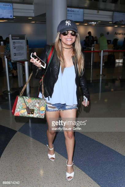 Ally Brooke is seen at LAX on June 08 2017 in Los Angeles California