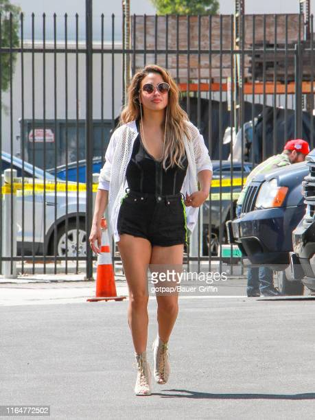 Ally Brooke is seen on August 29 2019 in Los Angeles California