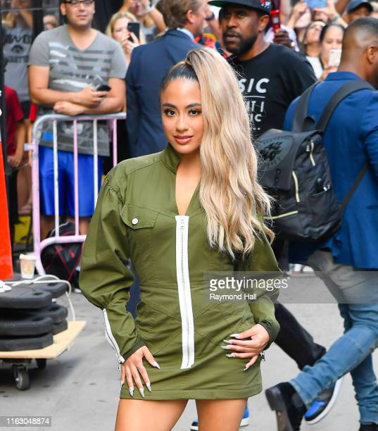 Ally Brooke is seen outside Good Morning America on August 21 2019 in New York City