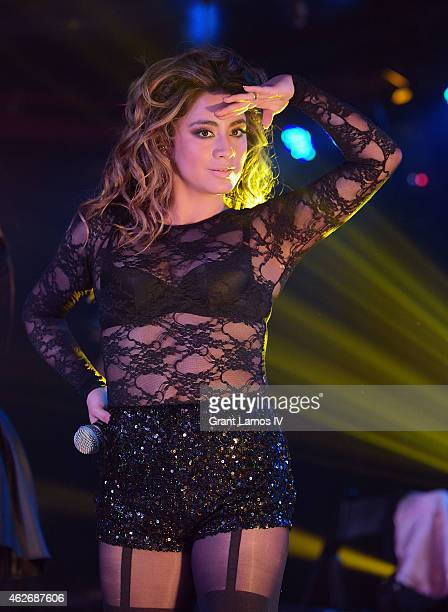 Ally Brooke of Fifth Harmony performs at Webster Hall on February 2 2015 in New York City