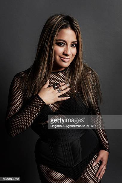 Ally Brooke of Fifth Harmony poses for a portrait at the 2016 MTV Video Music Awards at Madison Square Garden on August 28 2016 in New York City