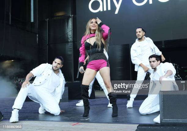 Ally Brooke performs onstage during BLI Summer Jam 2019 at Northwell Health at Jones Beach Theater on June 14 2019 in Wantagh New York