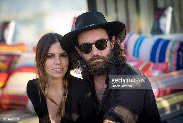 Ally Hilfiger and Steve Hash attend a party for Bite Me At Mama Shelter Hollywood on May 17 2016 in Los Angeles California