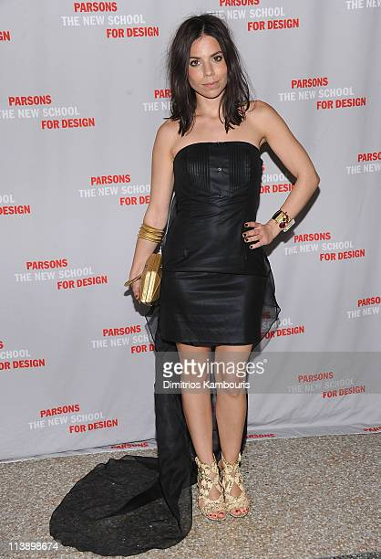 Ally Hilfiger attends the 2011 Parsons Fashion Benefit Pier 60 on May 9 2011 in New York City