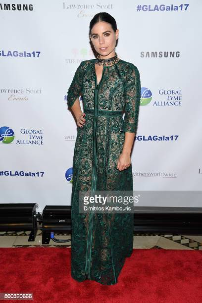 Ally Hilfiger attends the Global Lyme Alliance third annual New York City Gala on October 11 2017 in New York City