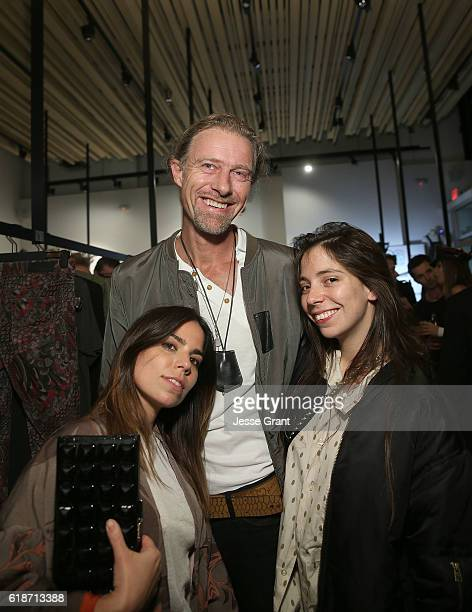 Ally Hilfiger Franck Chevalier and Elizabeth Hilfiger attend the Zadig Voltaire and Flaunt Celebration of The FW16 Collection and The Oh La La Land...