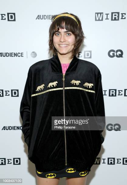 Ally Ioannides of 'Into the Badlands' attends the 2018 WIRED Cafe at Comic Con presented by ATT Audience Network at Omni Hotel on July 21 2018 in San...