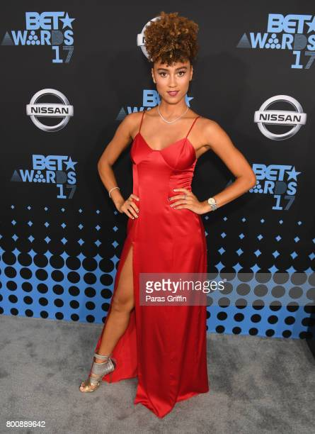 Ally Love at the 2017 BET Awards at Staples Center on June 25 2017 in Los Angeles California