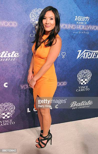 Ally Mackie attends Variety's Power of Young Hollywood event presented by Pixhug with Platinum Sponsor Vince Camuto at NeueHouse Hollywood on August...