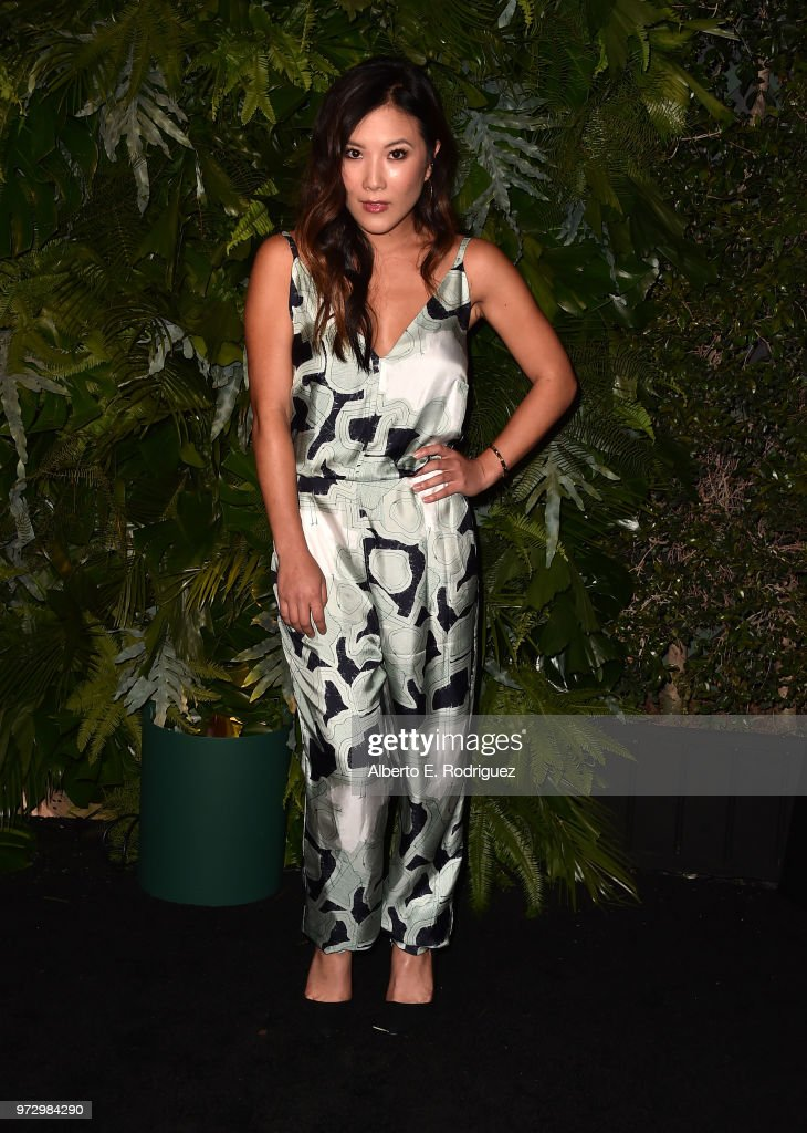 Ally Maki attends Max Mara Women In Film Face of the Future at Chateau Marmont on June 12, 2018 in Los Angeles, California.