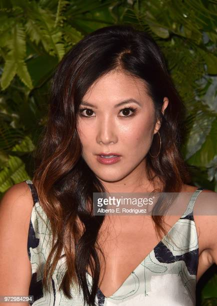 Ally Maki attends Max Mara Women In Film Face of the Future at Chateau Marmont on June 12 2018 in Los Angeles California